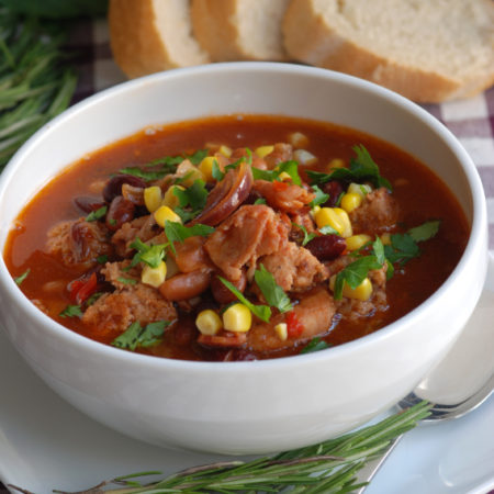 Image of Easy Beef and Bean Soup
