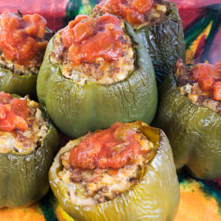 Image of New England Style Stuffed Peppers
