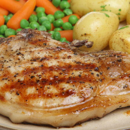 Image of Pork Chop Dinner